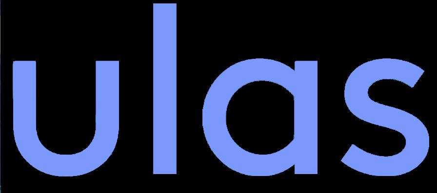 Ulas logo blue